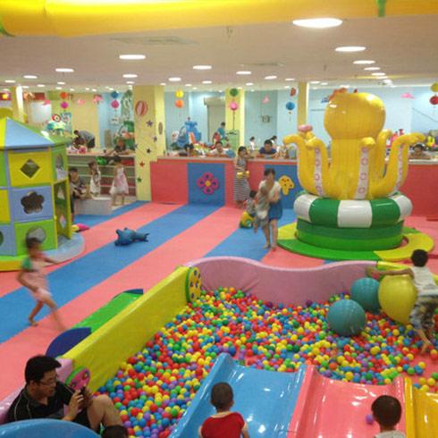 妙妙城堡儿童乐园 让宝宝们健康玩耍