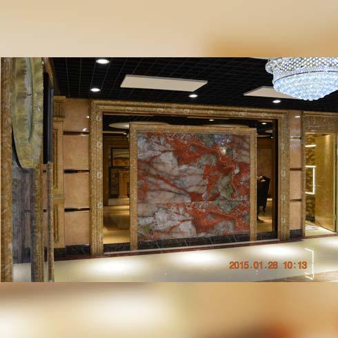 大溪地创意有氧石材产品-背景墙系列