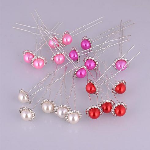 格调女王整体造型馆项目-珍珠镶钻插针发簪
