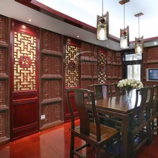 仿实木室内背景墙装饰材料