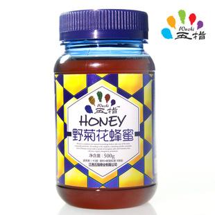 五指蜂 纯天然无污染野菊花蜂蜜 滋补蜂蜜 0添加 高纯度野菊花蜜