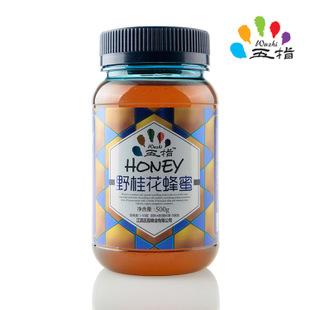 五指蜂 纯天然野桂花蜂蜜滋润养颜 高纯度0添加蜂蜜 直销