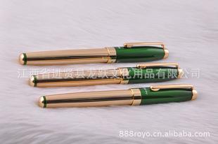 厂家批发龙跃书写流畅高档办公金属水笔