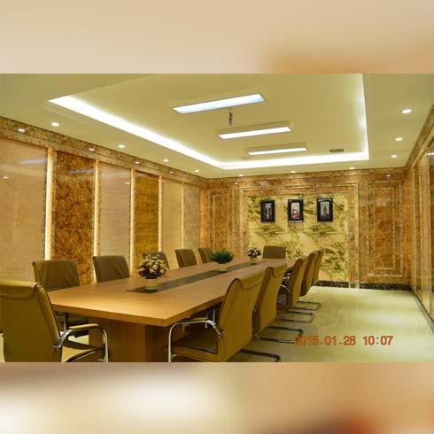 大溪地创意有氧石材产品系列-会议室墙面装饰图片