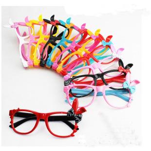 kitty兔子儿童眼镜框架小孩时尚装扮眼镜