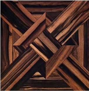 黑檀实木复合拼花地板卧室地板