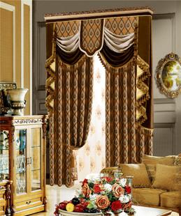 金帛丽-奢华高档欧式提花布窗帘