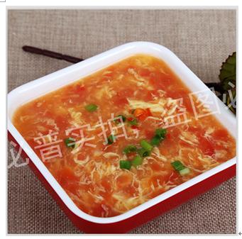 久焖提督牛肉面馆产品-西红柿蛋花汤