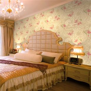 欧式高档 无纺布墙纸客厅卧室 厂家直销墙纸-电视背景墙壁纸