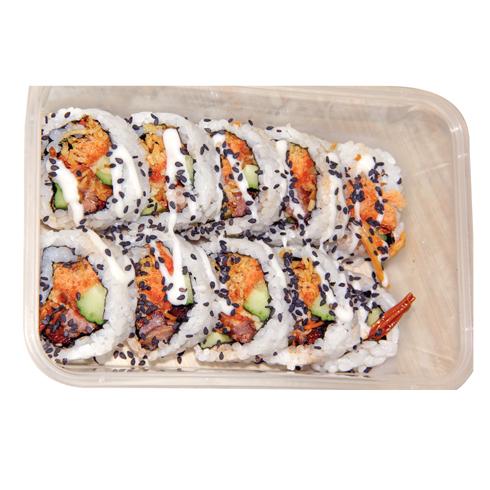 嘿店寿司小吃产品-特色芝麻寿司