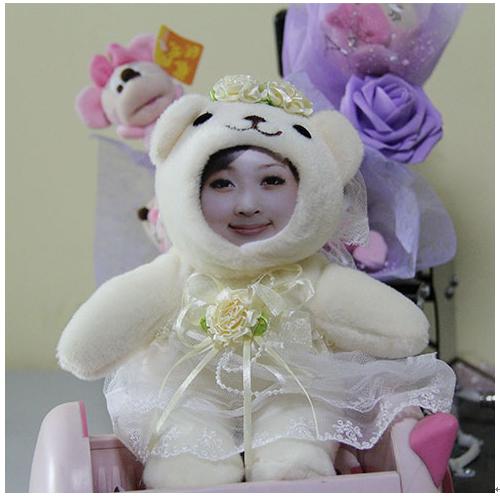 七十二变3d玩偶产品-公主版3D玩偶