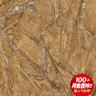 欧式神诺客厅抛釉第一代大理石瓷砖雨林啡ely70180s