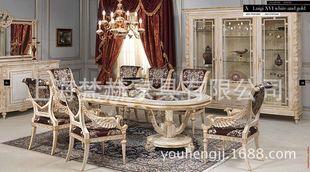 欧式8人餐桌尺寸