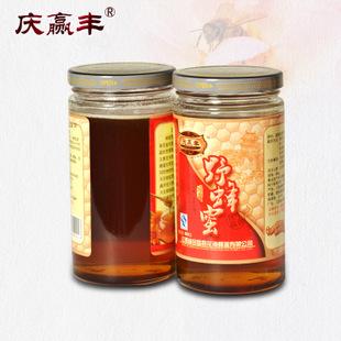 庆赢丰土蜂蜜纯天然高档礼盒装 原生态野生百花原蜜活性结晶冬蜜