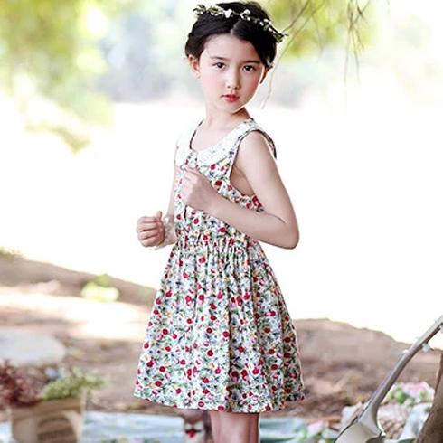 米琪派童装-吊带裙森系裙