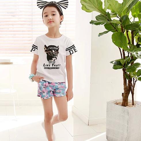 米琪派童装-黑白T恤