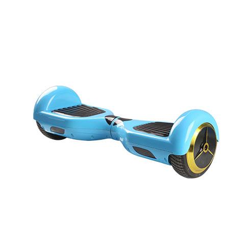 风火轮电动独轮车-蓝色双轮车