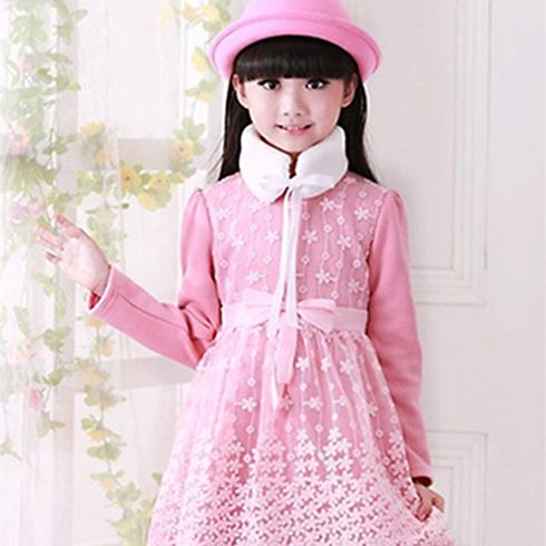 芭比瑭童装-甜美公主裙