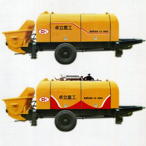 卓立重工混凝土泵-拖式混凝土输送泵