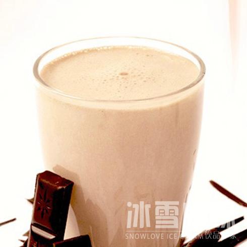 冰雪情缘冰淇淋-巧克力奶