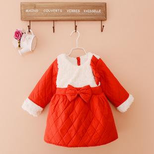 背心裙秋冬宝宝连衣裙小孩公主裙0-1-2-3岁婴儿裙子