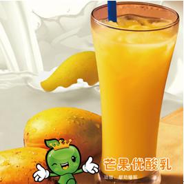 鲜果皇后休闲饮品-芒果优酸乳
