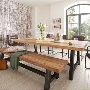 欧式创意经典款客厅酒吧长餐桌