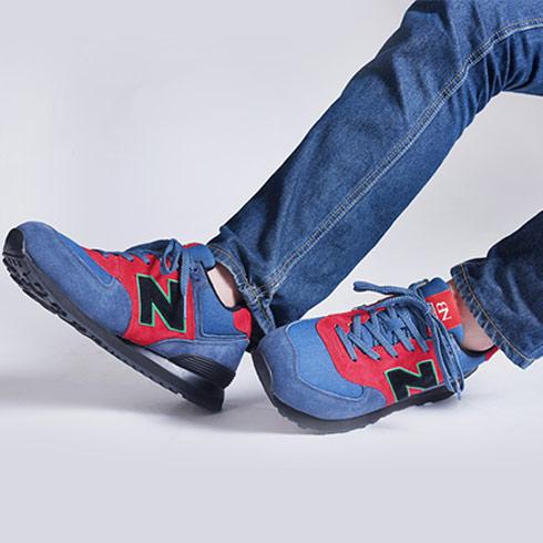 BN-BN运动鞋蓝色