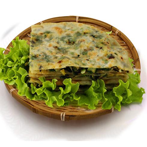 鲁蒙肉饼中式快餐-鲁蒙韭菜肉饼