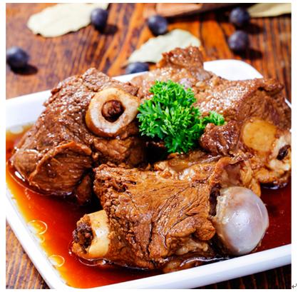 锅先森台湾卤肉饭快餐产品-酱大棒骨