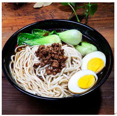 锅先森台湾卤肉饭快餐产品-卤肉面