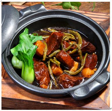 锅先森台湾卤肉饭快餐产品-台式红烧肉