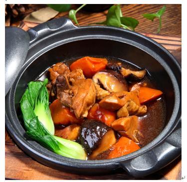 锅先森台湾卤肉饭快餐产品-香锅鸡肉
