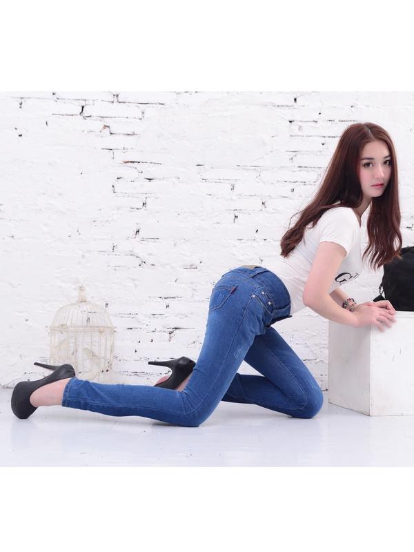 美酷思服饰-蓝色牛仔裤