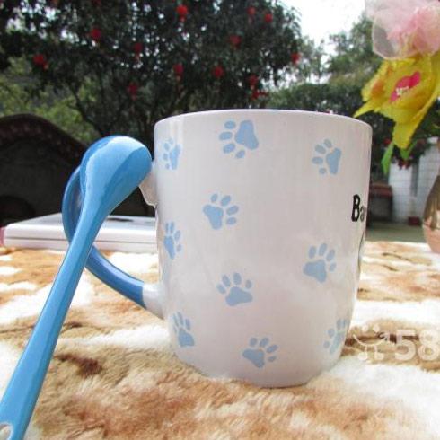 仟陌印花陶瓷杯