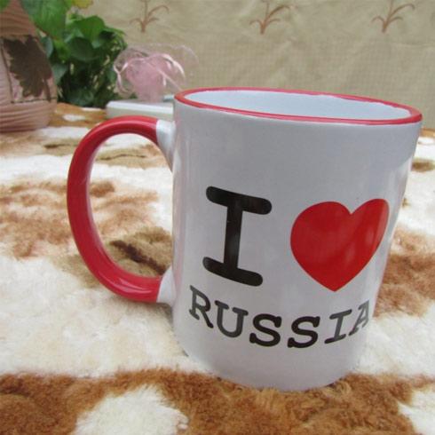 仟陌唯美陶瓷杯