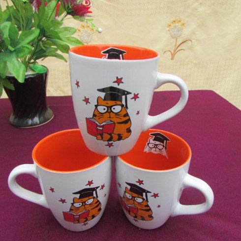 仟陌卡通陶瓷杯