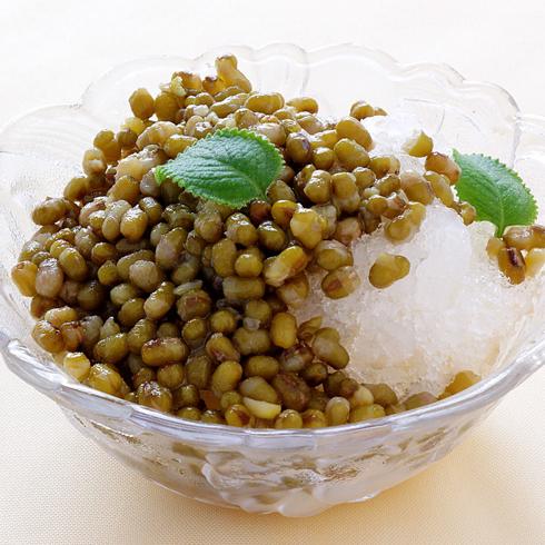 谷蔬果功能饮吧-绿豆沙冰