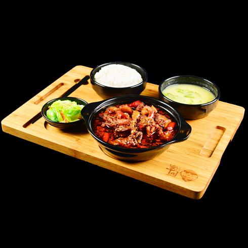 憨小二坛子焖肉-罐罐鸡套餐