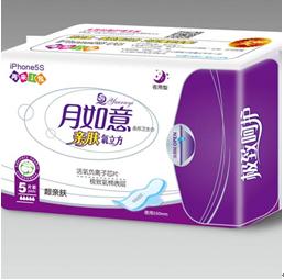 月如意活氧负离子-超亲肤5片装卫生巾