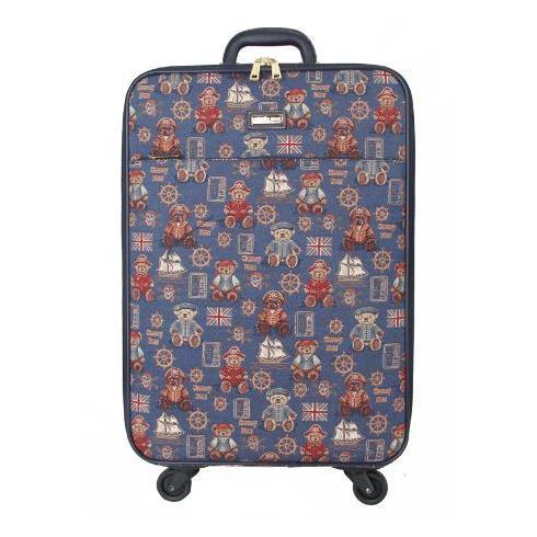 轩尼小熊行李箱