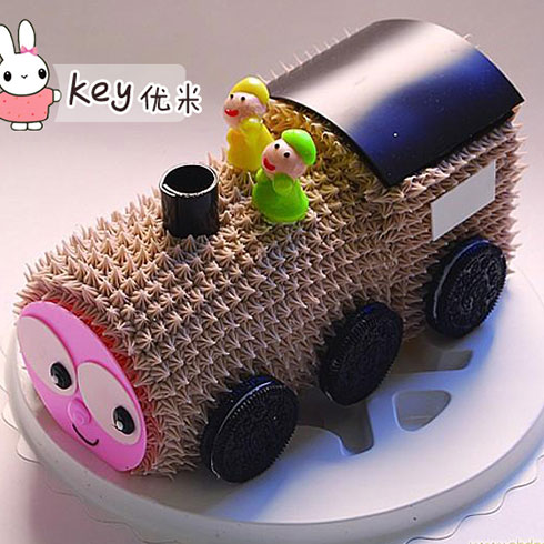 key优米儿童餐厅-快乐之旅蛋糕