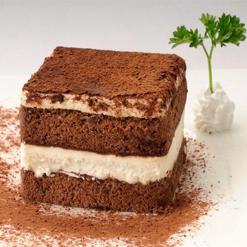 西岸人文咖啡-巧克力蛋糕