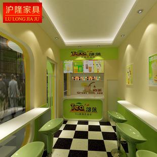 时尚奶茶店吧台
