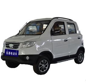 钰路新能源电动汽车-吉祥马(黑白色)电动车
