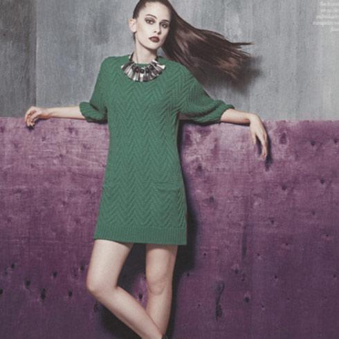 阿莱贝琳时尚针织衣