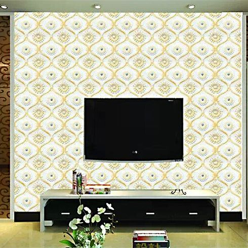 古典花式背景墙更是改良欧式古典风格