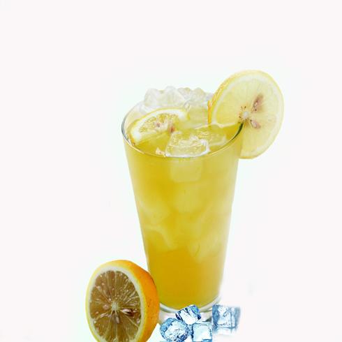 恋上茶饮品冰鲜柠檬水
