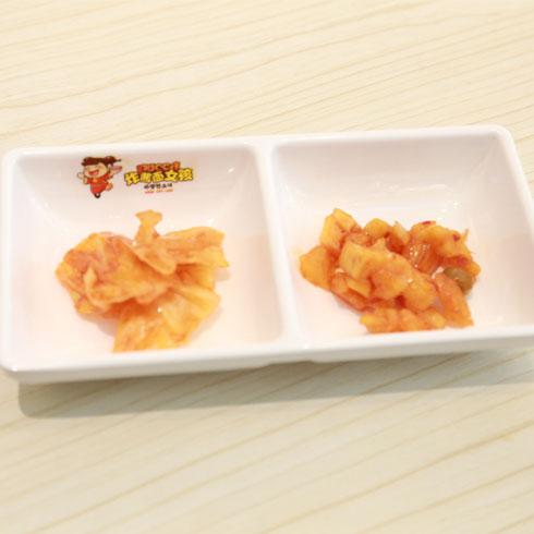 炸酱面女孩-韩国泡菜