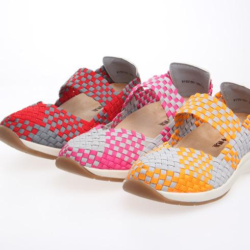 新款女士编织鞋